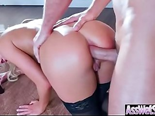 Anal Sex With Horny Big Butt Oiled Girl (Kenzie Taylor) video-19