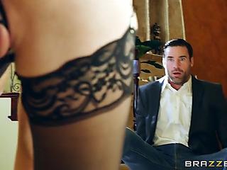 Breathtaking honey jillian janson anally rides large fake penis
