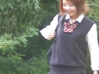 Highschool asians make water