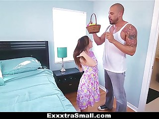 ExxxtraSmall - Teen Hunts Easter Eggs to Spread Her Legs