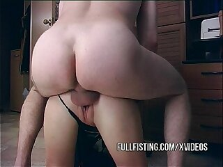 Fisted Teen Doggystyle Fucked