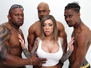 Karma Rx Interracial Anal Gangbang
