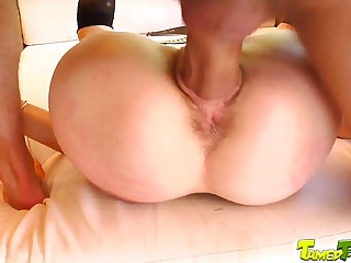 Tamed Teens Teen so cock hungry she comes back for more